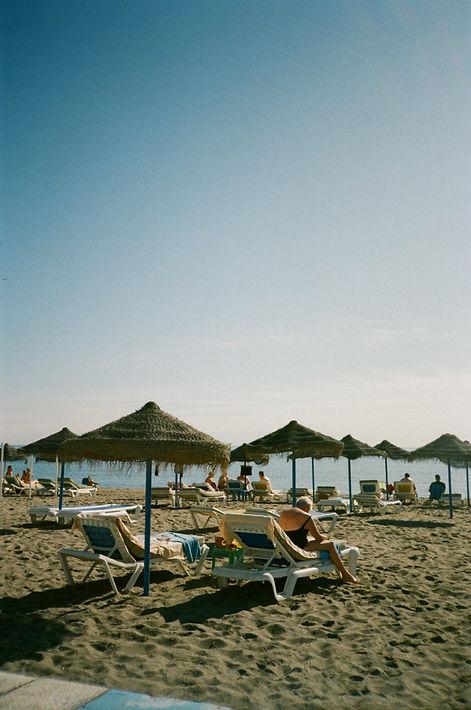Beach in Torremolinos