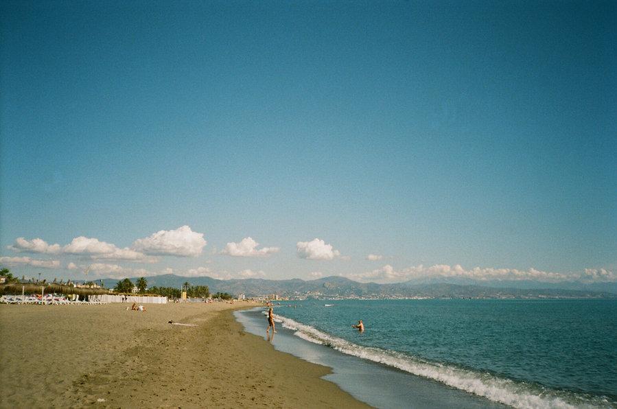 beach, Torremolinos