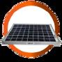 panel solar gps - localizacion satelital