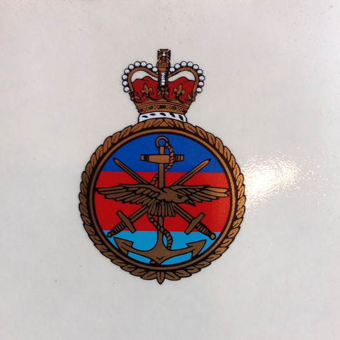 British Armed Forces Decal £ 12
