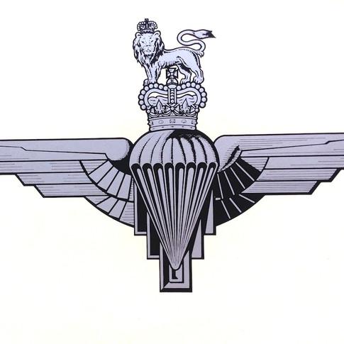 Parachute Regiment Decal £ 42
