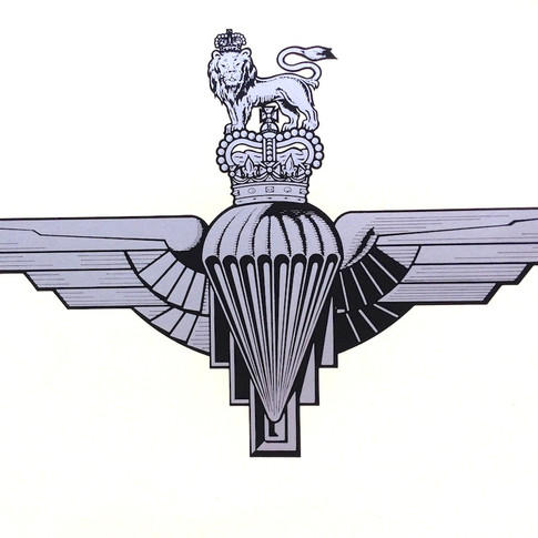 Parachute Regiment ('Paras') Decal - From £14