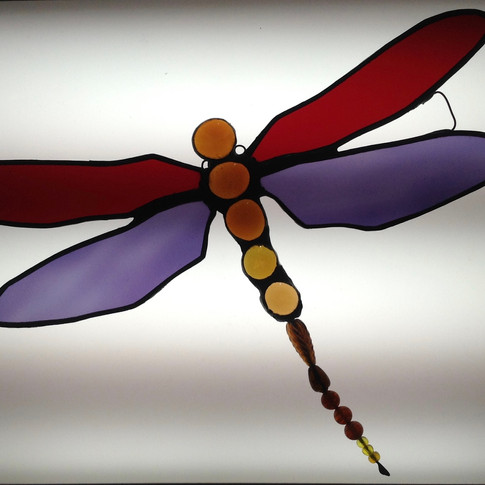 Stained Glass Dragonfly  £ 32