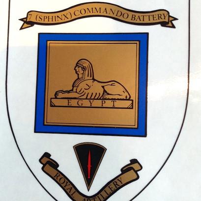 Royal Artillery Decal £ 24