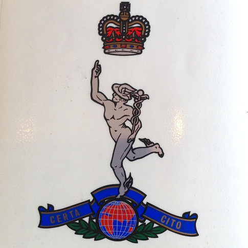 Royal Signals Decal - From £14