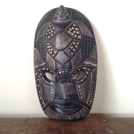 Original Hardwood African Mask £28