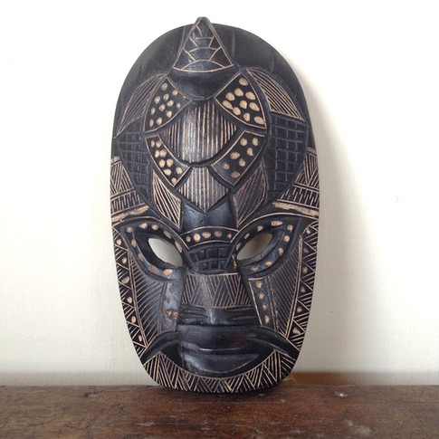 Original Hardwood African Mask £ 28