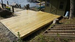 Lake House Deck - 2