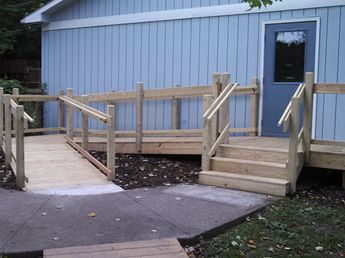 community center ramp - 2