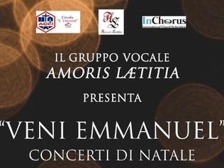 """Veni Emmanuel"" Gruppo Vocale Amoris Laetitia"