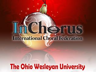 The Ohio Wesleyan University  Chamber Choir - Tour in Sicilia dal 5 al 12 gennaio 2019