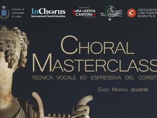 Masterclass in Tecnica Vocale ed Espressiva del Corista - Campobello di Licata 04-05-25-26/02/2017