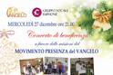Concerto natalizio di beneficenza Gruppo Vocale Euphoné - Chiesa Santi Pietro e Paolo, Palermo 27/12