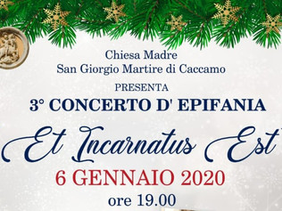 """Et Incarnatus Est"" - Caccamo (Pa) 06/01/2020"