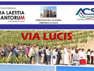 Via Lucis - Campobello di Licata 08/05/2018