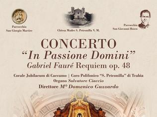 """Concerto """"In Passione Domini"""" - Caccamo / Trabia (PA)"""