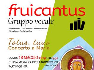 Totus, Tuus - Concerto a Maria - 18/05/2019 Partinico (Pa)