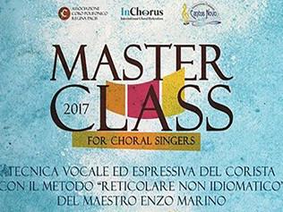 Masterclass in Tecnica vocale ed espressiva del corista - Ragusa 25-26/11/2017