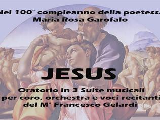 """""""Jesus"""" Oratorio in 3 suite musicali - Chiesa Madre di S. Stefano di Camastra (Me) 24/10/2"""