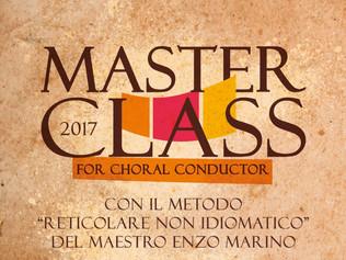 Masterclass per Direttori di coro - Altavilla Milicia (Pa) 03-05/11/2017