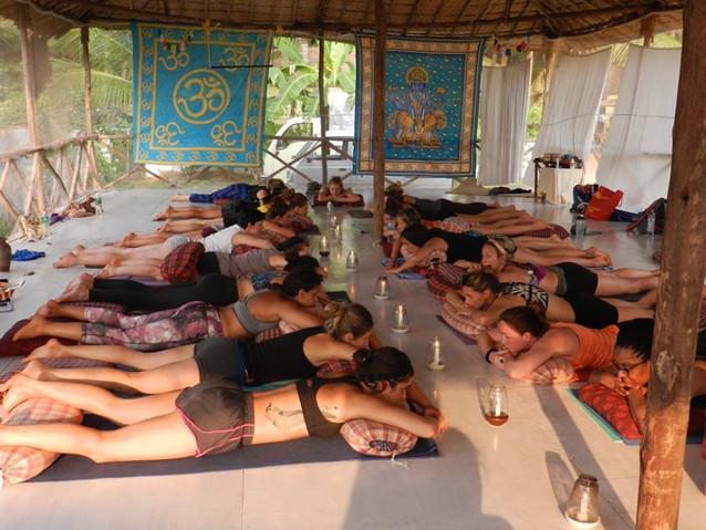 Candlelit Meditation, Goa 2016 200Hrs Training