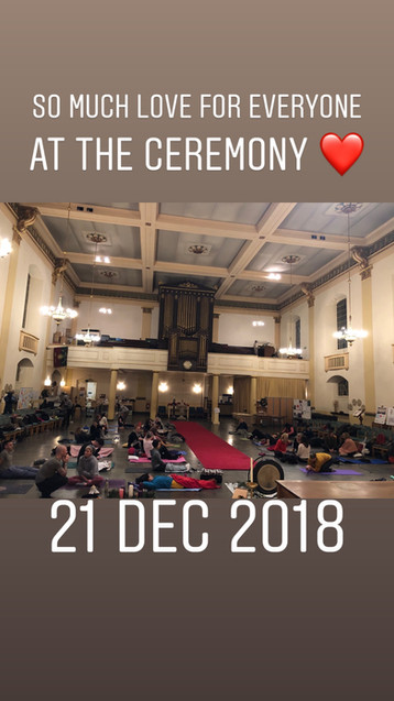 Winter Solstice Sound and Yoga Healing Ceremony 2018