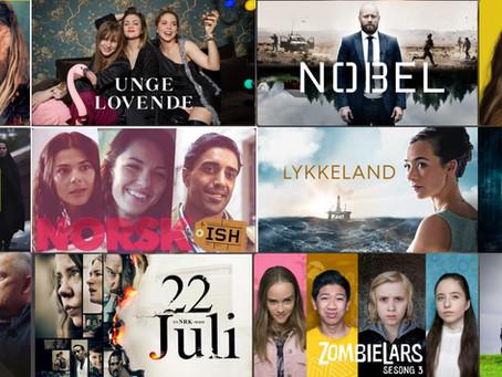 Norske TV-serier (i Norge)