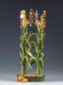 Corn Spirits - Hopi Katsina Carving