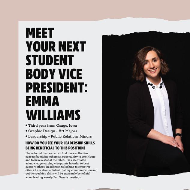 Student Senate Campaign