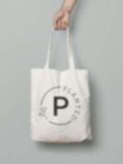 Planted Canvas Bags