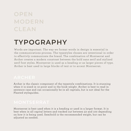 Typography Guidelines