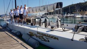 Pendragon e il Lightbay Sailing Team sono in viaggio verso Ancona