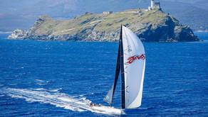 Pendragon e il Lightbay Sailing Team chiudono quinti in tempo reale la Giraglia Rolex Cup