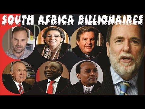 Who is richest person in south africa