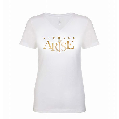 Lioness Arise Tee - V Neck