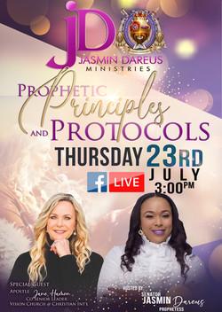 Jasmin Dareus Prophetic Principles