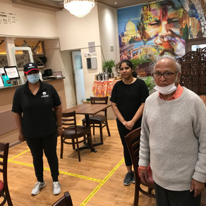 Eating Out Brings Smiles to Seniors' Faces Once Again