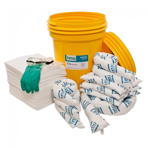 Spill Kit - Universal - 30 Gallon Screw Top Drum
