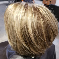 Loving this multi tonal blonde
