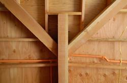 Ceiling/Roof Framing - Media Room
