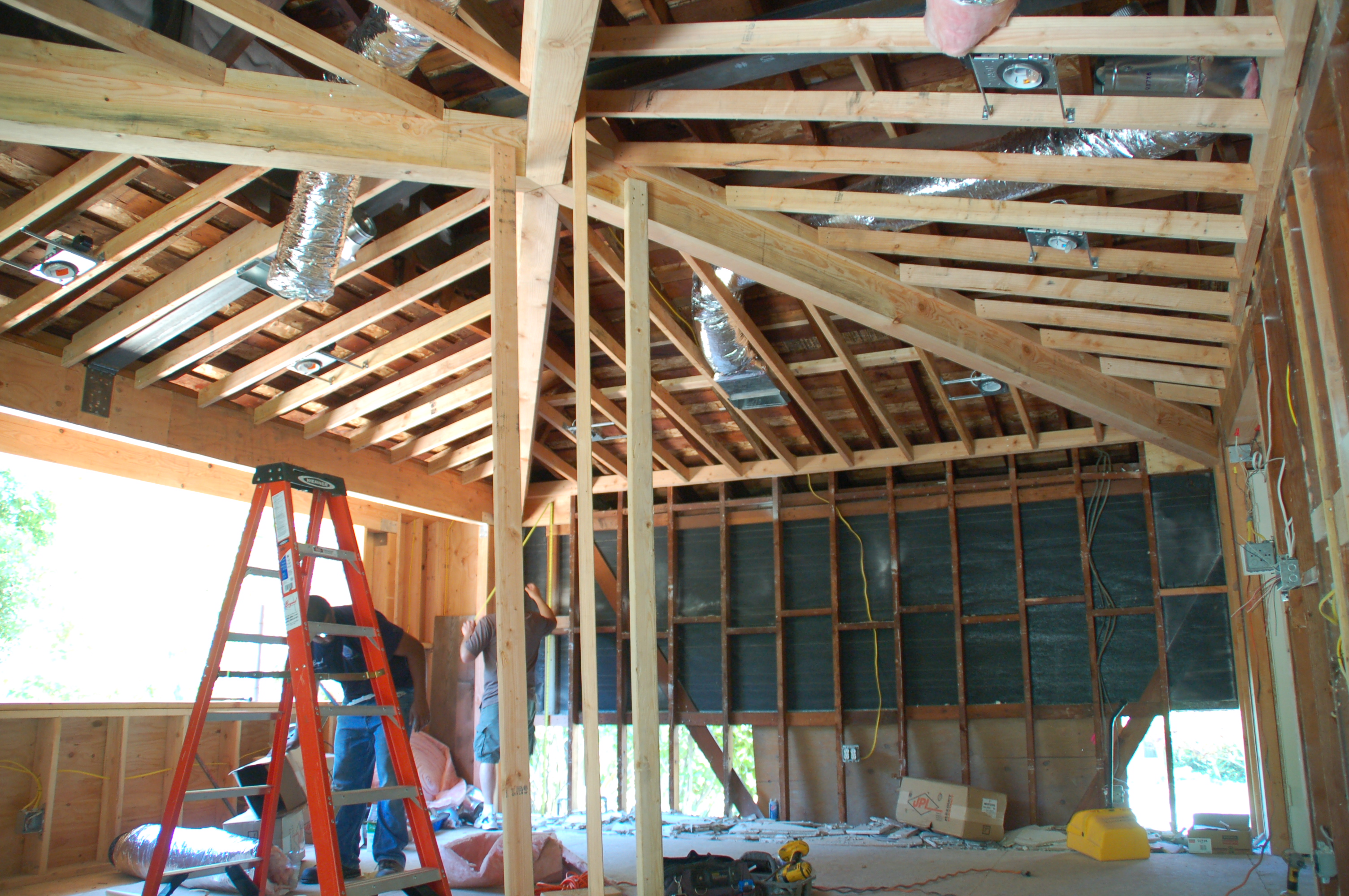 New Ceiling Framing