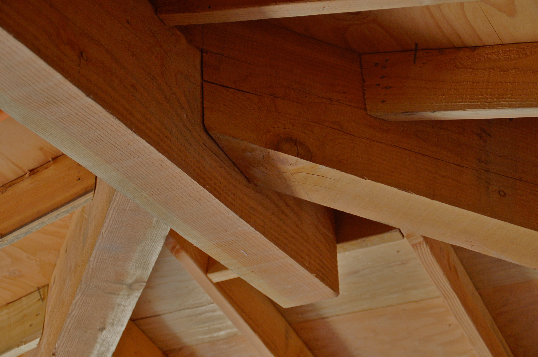 Ceiling/Roof Framing - Master Bedrm.