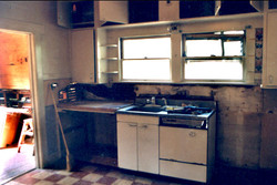 The kitchen was daunting...
