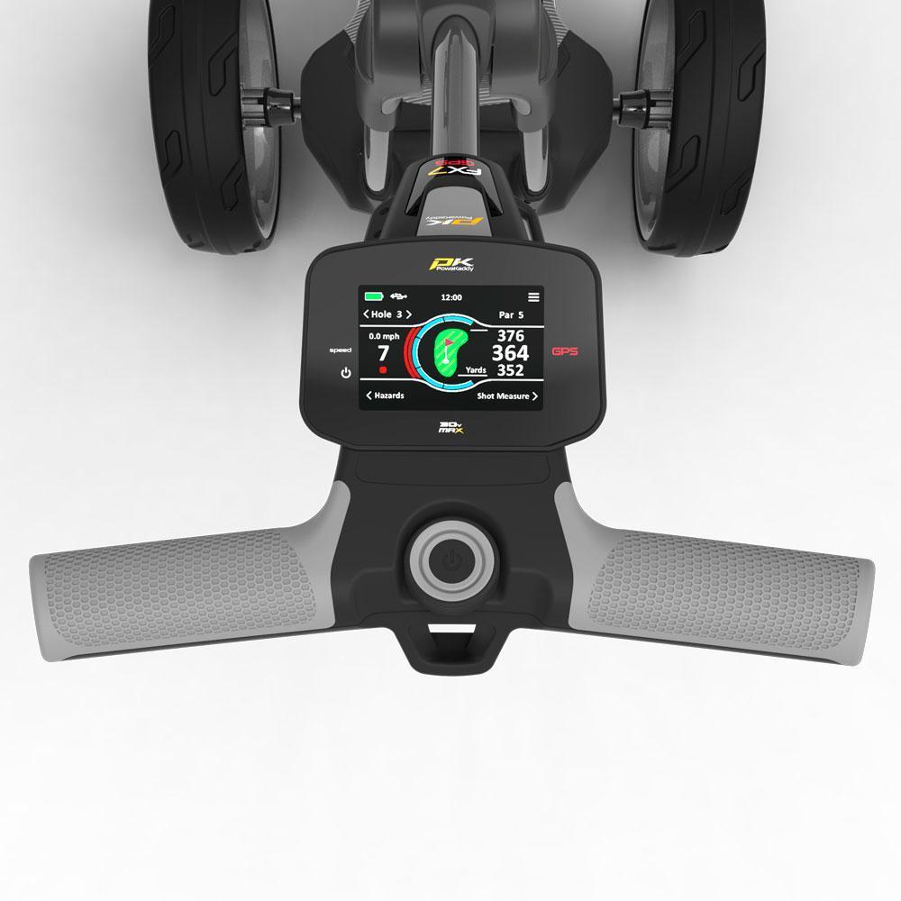 PowaKaddy FX7 GPS Gunmetal