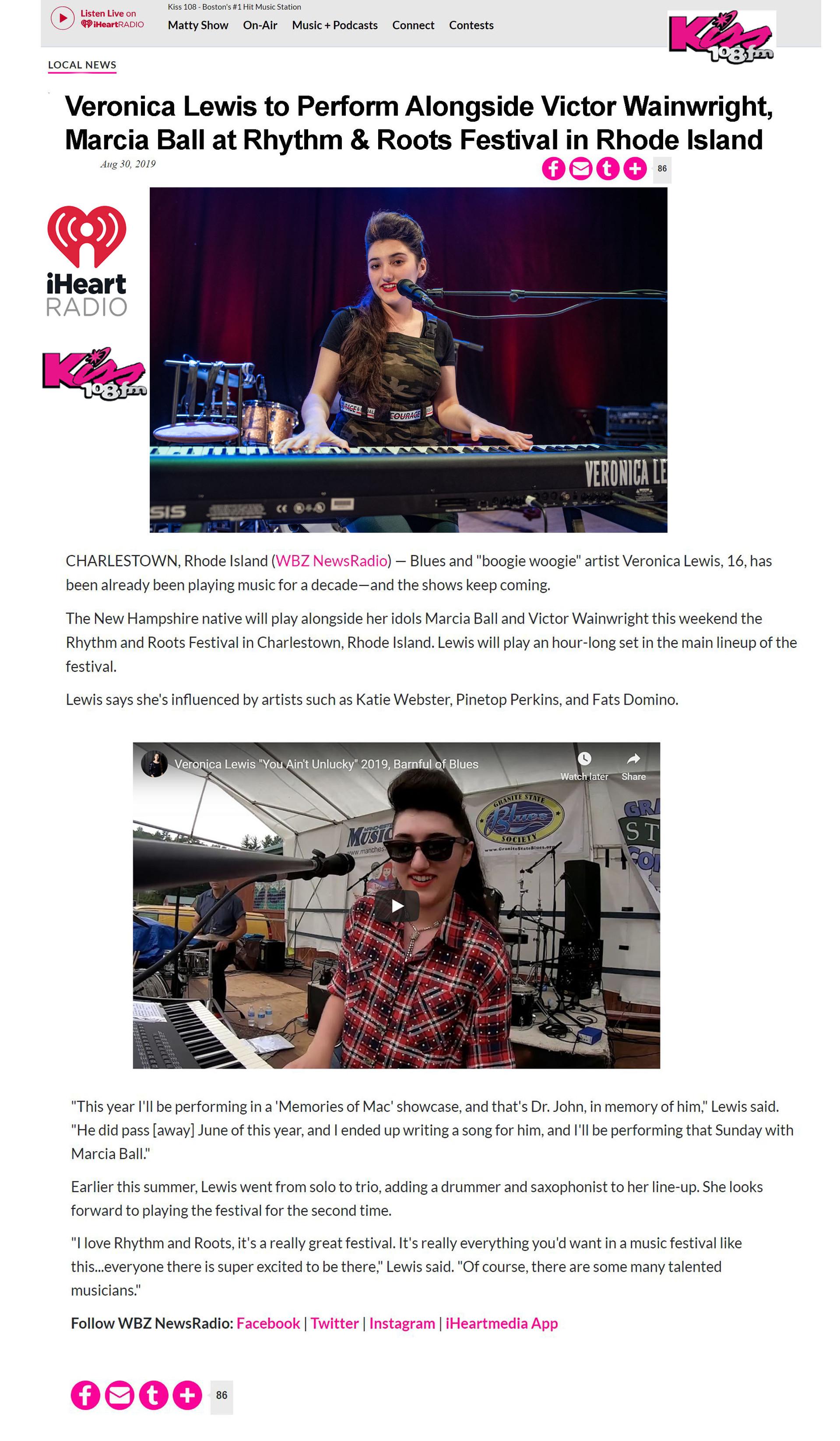 iHeart Radio Kiss 108