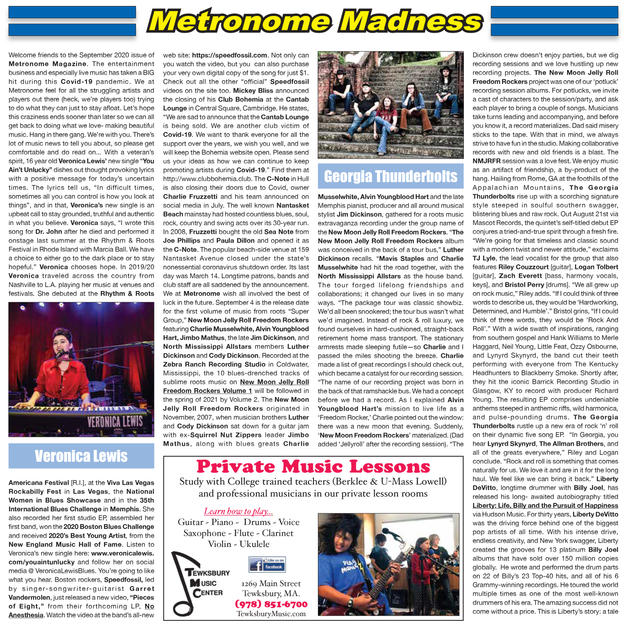 Metronome Madness - Single Review