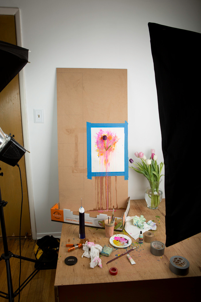 Watercolor Photographs, the process