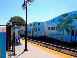 Le train de banlieu TRI RAIL