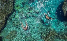 Le Kayak transparant