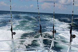La pêche à haute mer